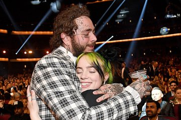 post malone, billie eilish, música, pop