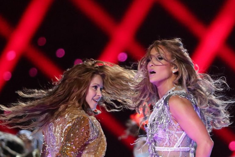 Shakira Jennifer Lopez Super Bowl