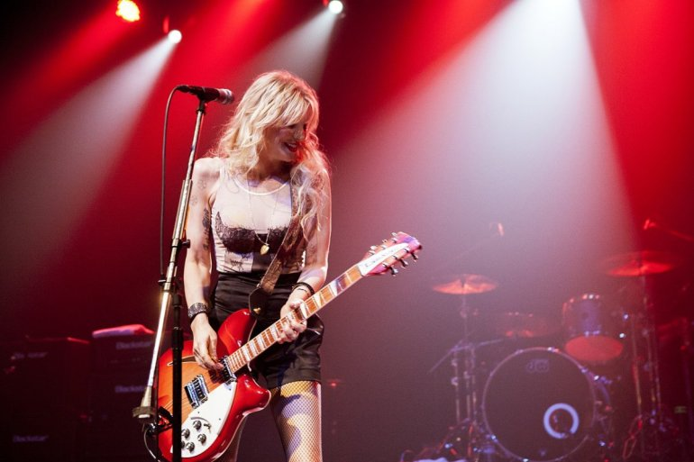 Courtney Love no Majestic Ventura Theatre