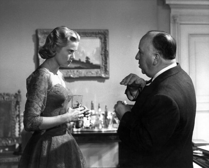 grace kelly e alfred hitchcock