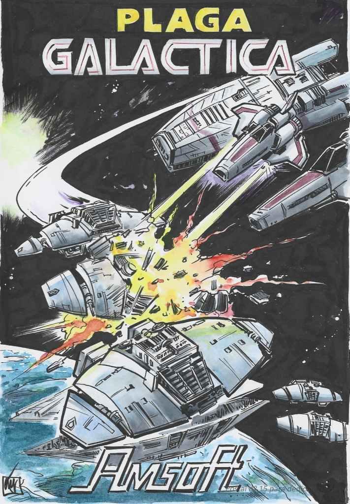 Print JMV - Plaga Galactica