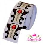 IshtarNails Cartine Nail Form Silver Shape Stiletto 2