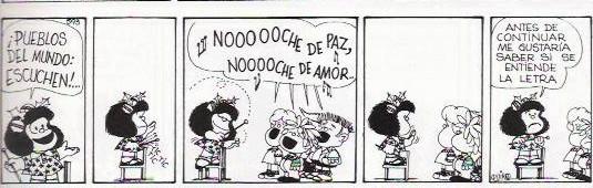 O Natal com Mafalda