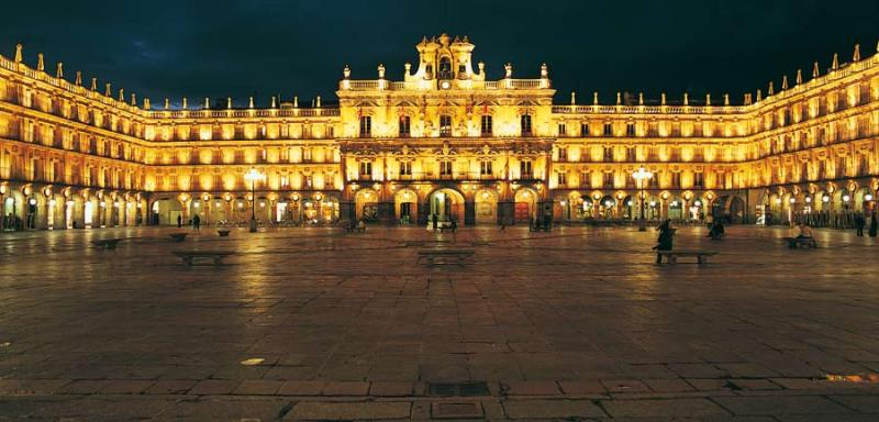 Plaza Mayor em Madrid - Espanha