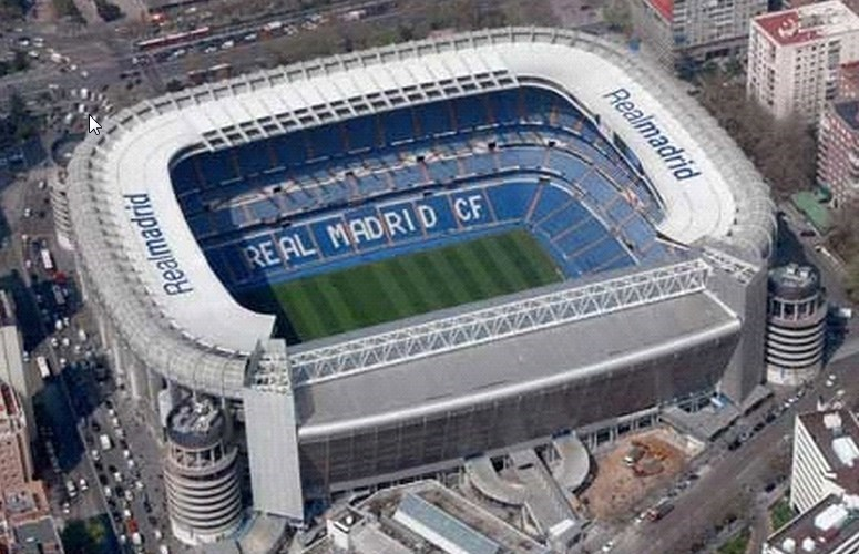 Estadio Real Madrid - Santiago Bernabeu