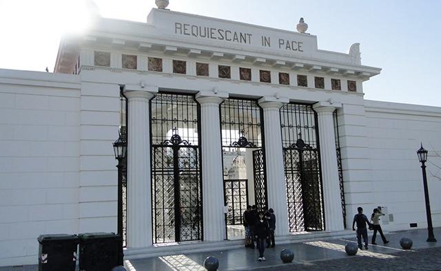 Cemitério da Recoleta buenos aires