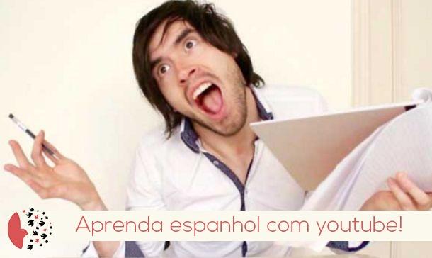 Aprenda espanhol com youtube