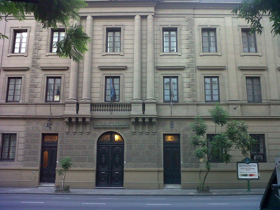 Colegio del Salvador, donde mi abuelo estudió pupilo hace más de setenta años