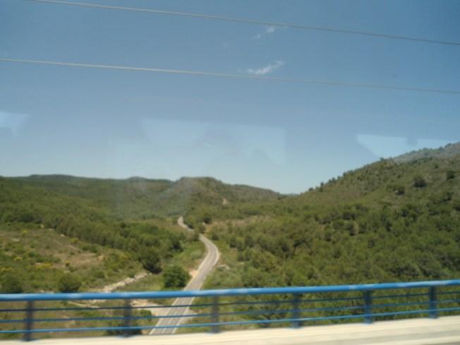 De camino a Barcelona, postales