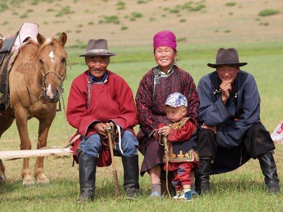Familia de Mongolia