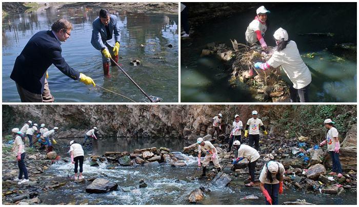 La Restauración del Río Bagmati en Katmandú atrae la Cooperación del Gobierno y el Sector Privado