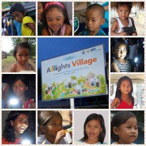 El Proyecto Aldea Alllights esta llevando lámparas de energía solar a aldeas remotas en países en desarrollo como una manera de combatir analfabetismo y construir autosuficiencia.