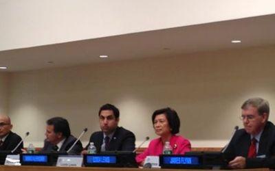 """Presidente de Global Peace Foundation le dice a los líderes jóvenes en las Naciones Unidas: """"Liderazgo en el siglo XXI debe comenzar como Liderazgo Moral."""""""