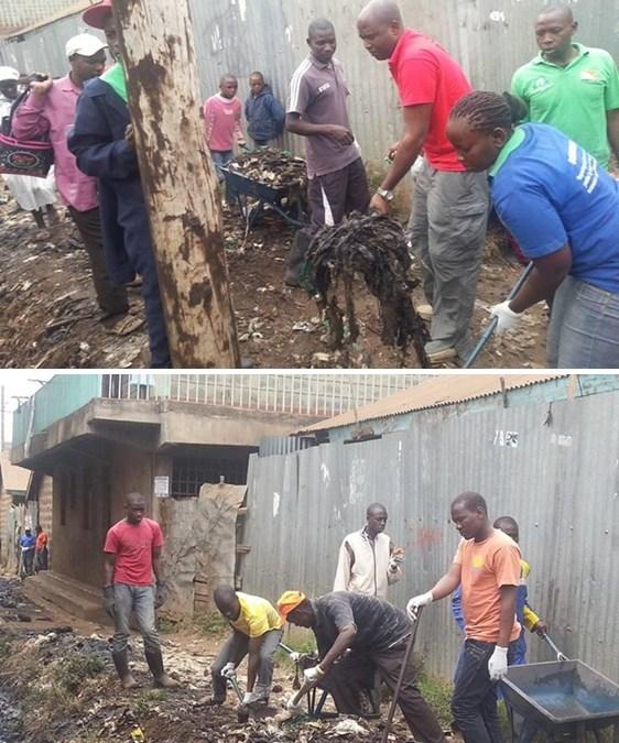 Día de Limpieza de la Ciudad podría significar una nueva generación de líderes Kenianos