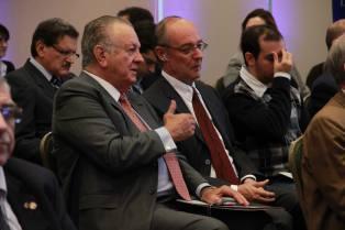 El Ex-Mandatario Paraguayo Juan Carlos Wasmosy tambien atendió el Simposio junto a muchos líderes de diferentes campos.