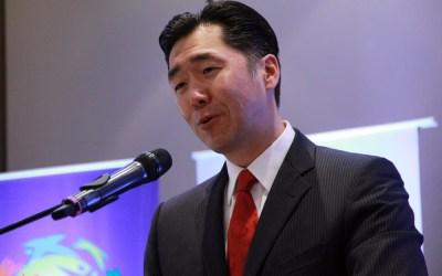 """Discurso del Dr. Hyun Jin Moon durante el Simposio Internacional: """"Hacia una Alianza entre Paraguay y Corea"""""""