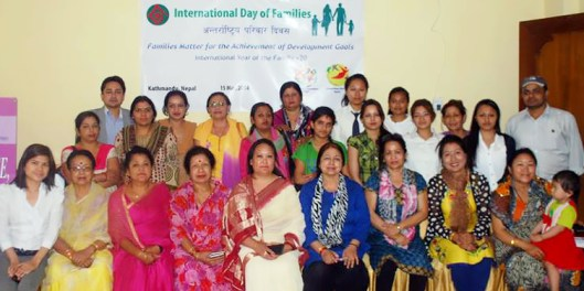 La Asociación Paz Global y Global Peace Women Nepal organiza un foro sobre el Dia Internacional de las Familias