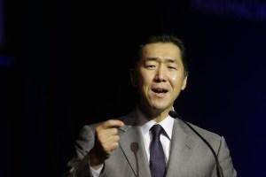 El Dr. Hyun Jin Moon en su discurso en la Plenaria de Apertura de la Convención Paz Global 2014