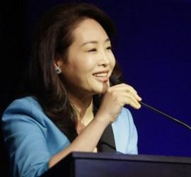 """""""La Paz Comienza en el Hogar"""" Discurso de la Dra. Jun Sook Moon"""