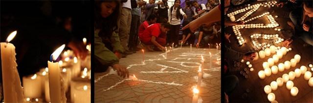 Vigilias de velas en Nepal y Nueva Zelanda, y mensajes de esperanza y aliento han venido de todo el mundo para expresar solidaridad por nuestra familia humana.