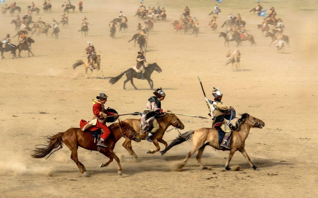 Caballos de Genghis Khan