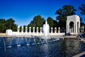 Monumento a la segunda guerra mundial en Washington, D.C.