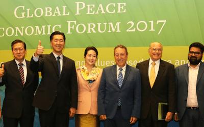 Discurso Principal del Dr. Hyun Jin Moon en el Foro Económico para la Paz Global 2017