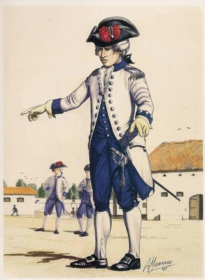 Fernando de Leyba, el héroe ceutí en la independencia de Estados Unidos