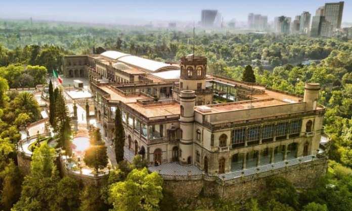 Los Gálvez y la residencia de Chapultepec
