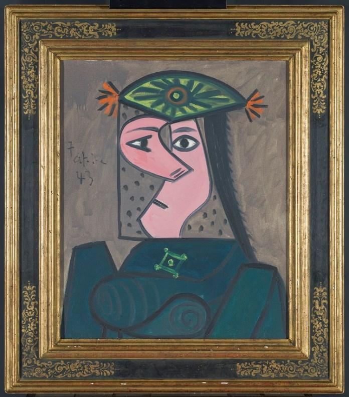 Buste de Femme 43, de Pablo Picasso, ha sido donada a American Friends of the Prado Museum