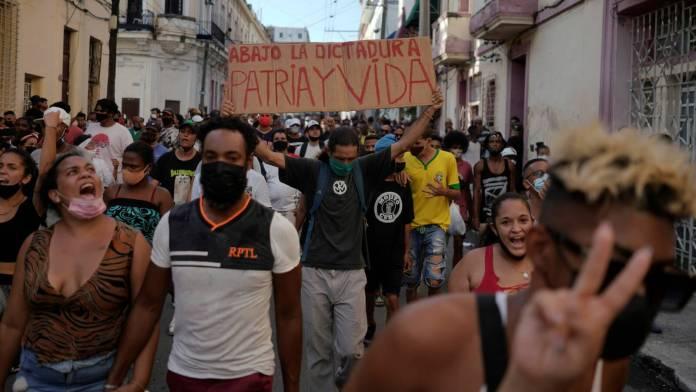 El pueblo cubano dijo «¡basta!»