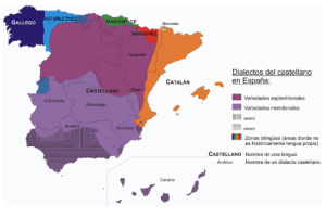 Dialects of Spanish in Spain