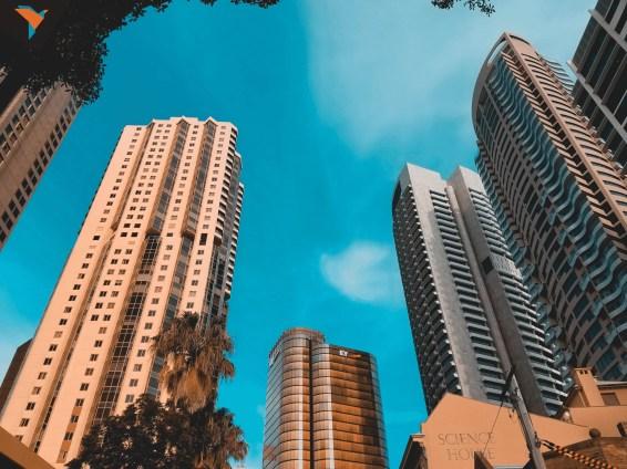 Rascacielos en el CBD