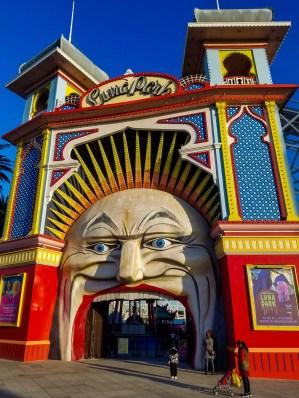 Parque de diversiones Luna Park Melbourne