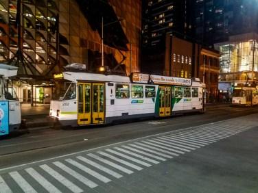 Tram en Melbourne