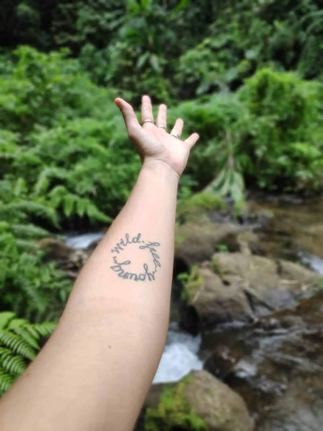 Tatuaje de Bamboo de nuestra amiga Mechi