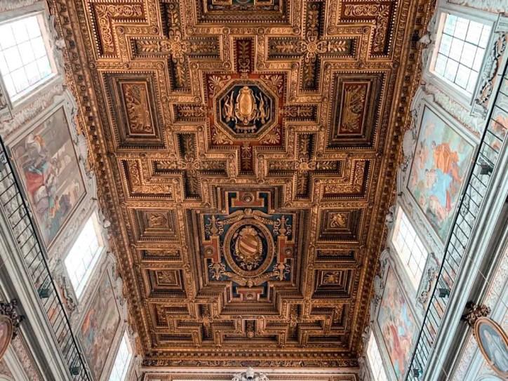 El techo de Santa Maria in Aracoeli