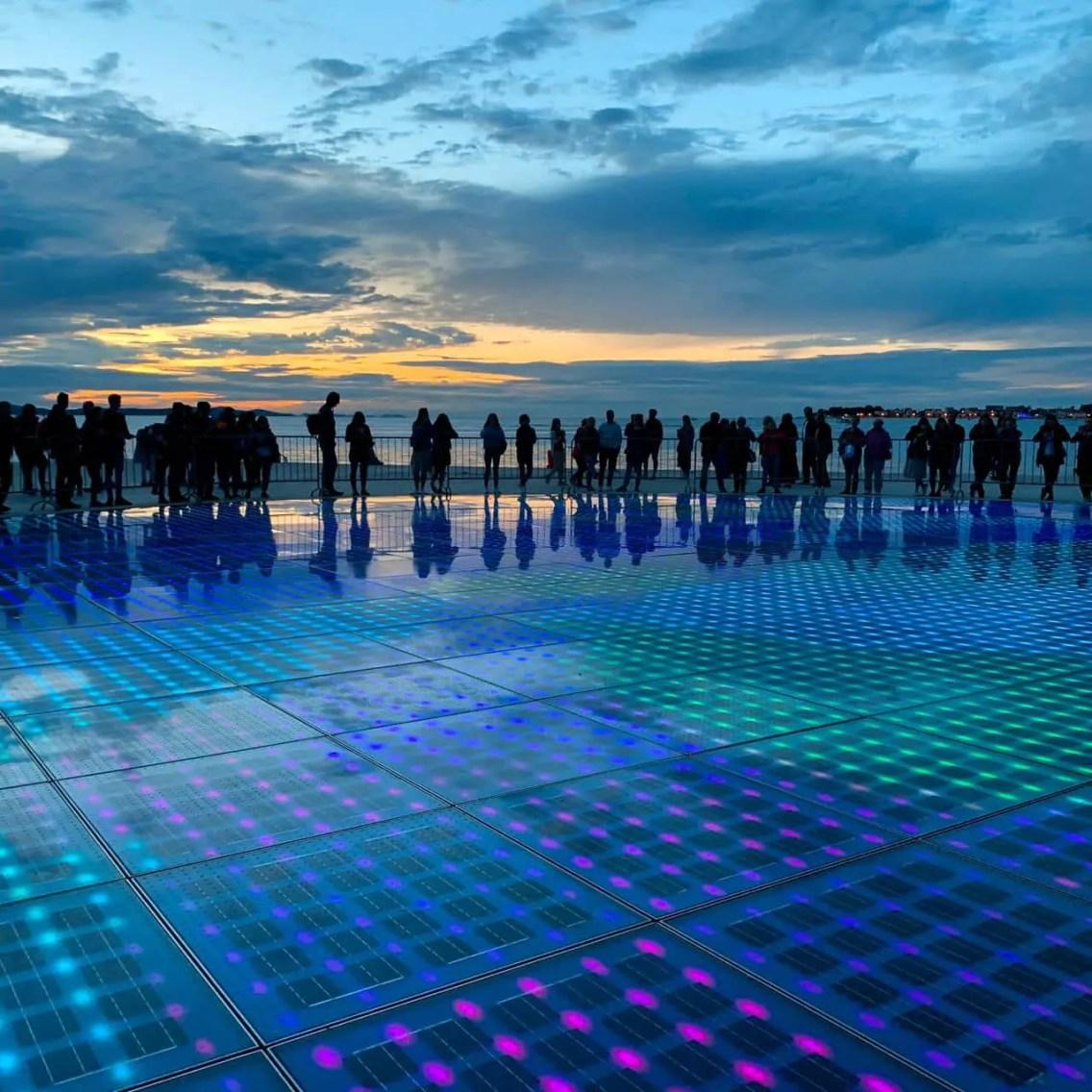 Saludo al Sol en Zadar