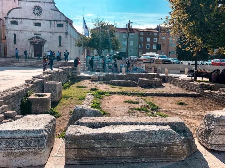 Foro Romano Zadar