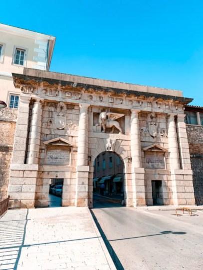 La Puerta de Terraferma desde el Parque Helena