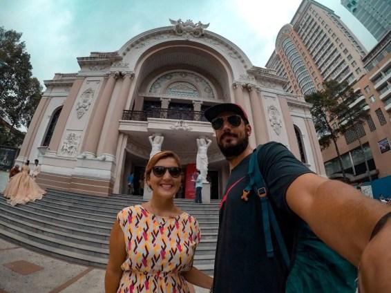 Teatro de la Ópera de Ho Chi Minh.