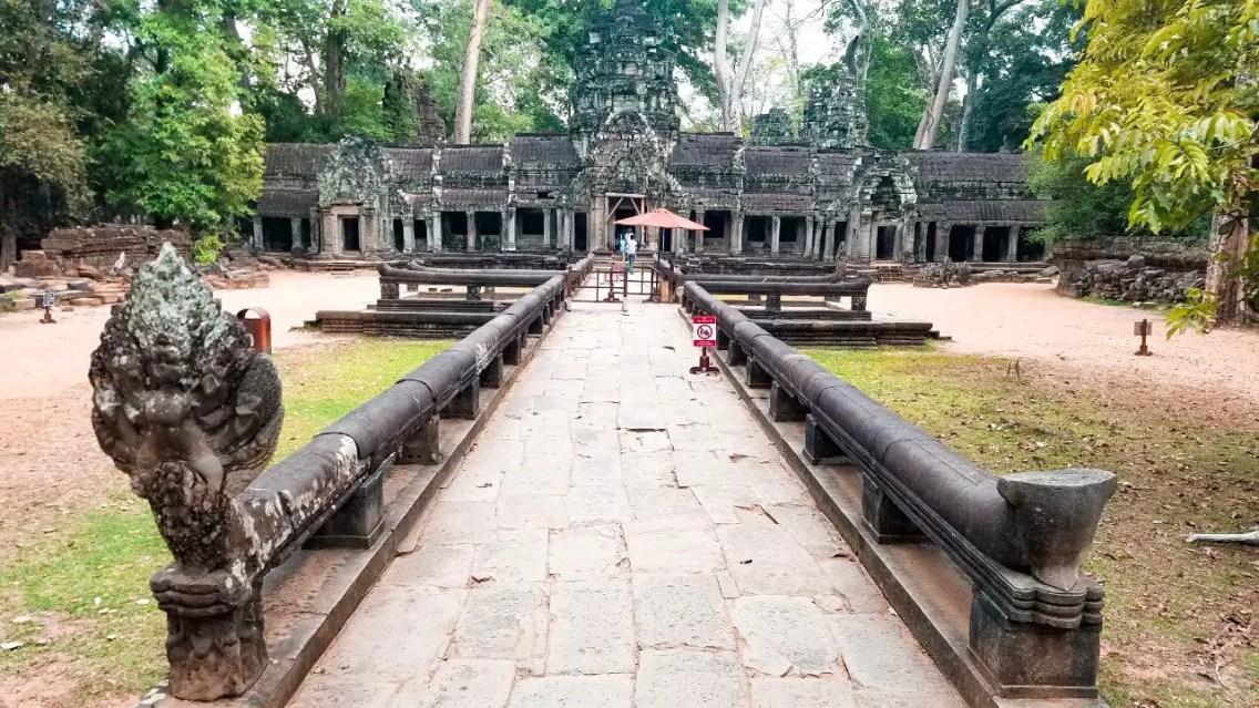 Entrada templo Ta Prohm