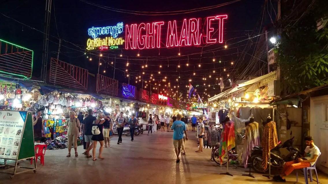 Night Market Siem Reap