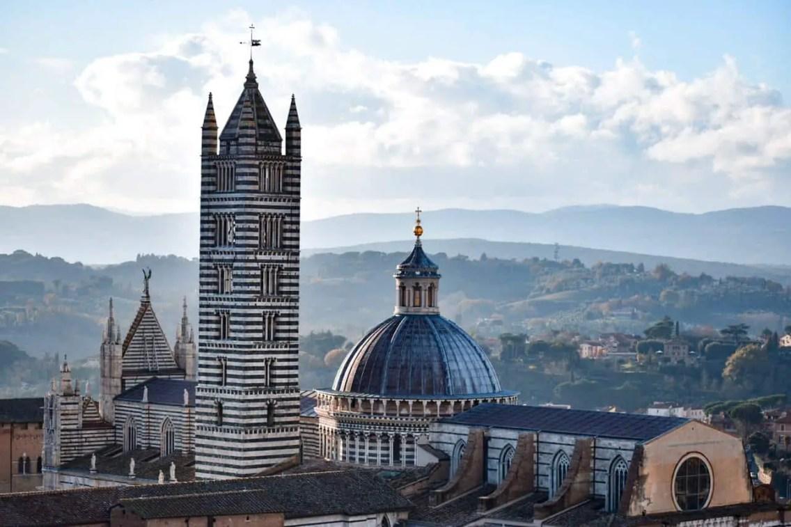 Vistas desde la Torre del Mangia