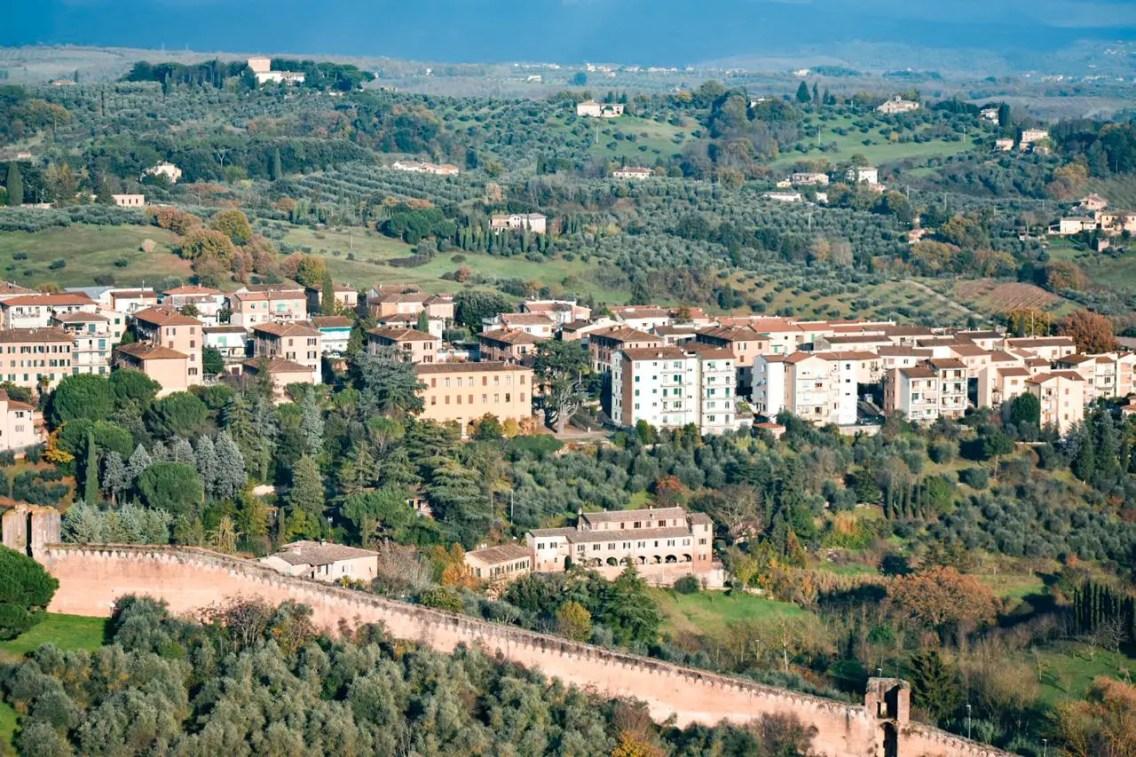 Paisaje Siena