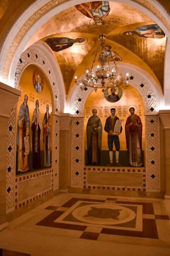 Interior del Templo San Sava