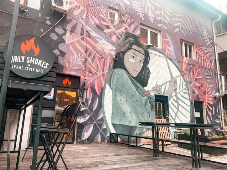 Arte urbano en DORCOLMALA