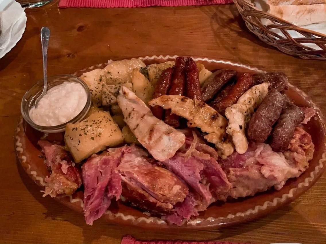 Comida típica de Serbia