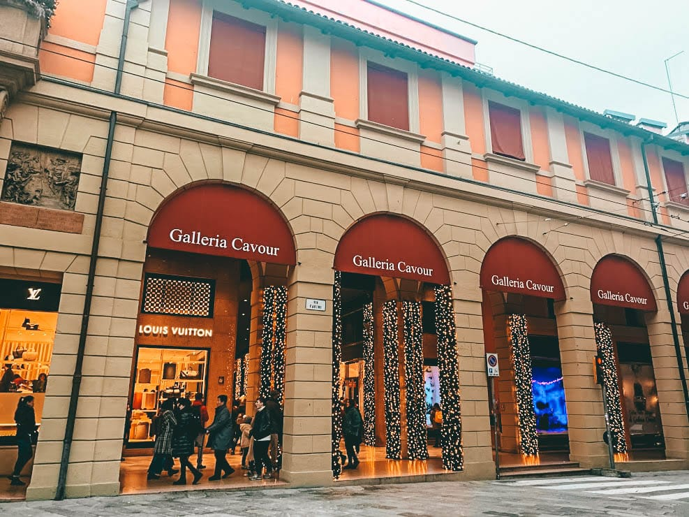 Galeria Cavour en Bolonia