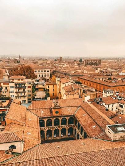 Las vistas desde la Basílica de San Petronio